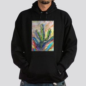 Cactus, southwest art! Hoodie (dark)