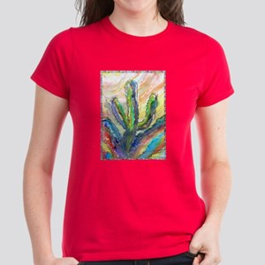Cactus, southwest art! Women's Dark T-Shirt