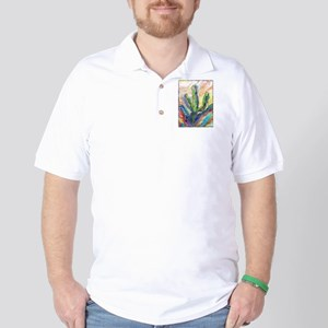 Cactus, southwest art! Golf Shirt