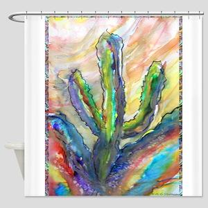 Cactus Southwest Art Shower Curtain