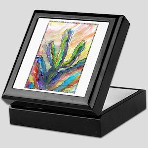 Cactus, southwest art! Keepsake Box