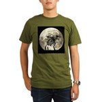 Full Moon Organic Men's T-Shirt (dark)