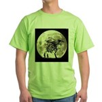 Full Moon Green T-Shirt