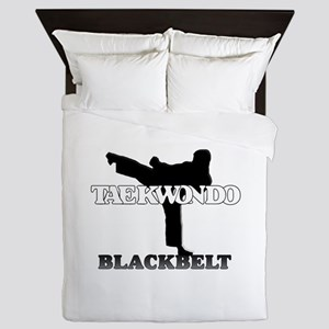 TKD BlackBelt Queen Comforter
