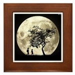 Full Moon Framed Tile