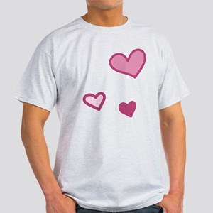 Love Hearts Light T-Shirt