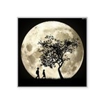 Full Moon Square Sticker 3