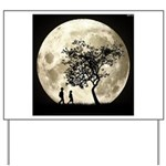 Full Moon Yard Sign