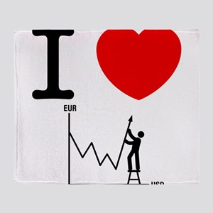 Forex/Stock Trader Throw Blanket