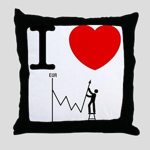 Forex/Stock Trader Throw Pillow