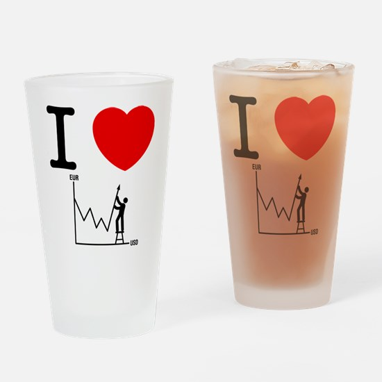 Forex/Stock Trader Drinking Glass