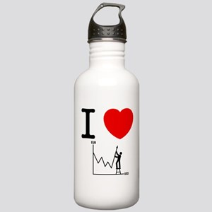 Forex/Stock Trader Stainless Water Bottle 1.0L