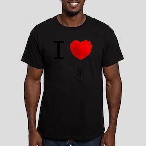 Forex/Stock Trader Men's Fitted T-Shirt (dark)