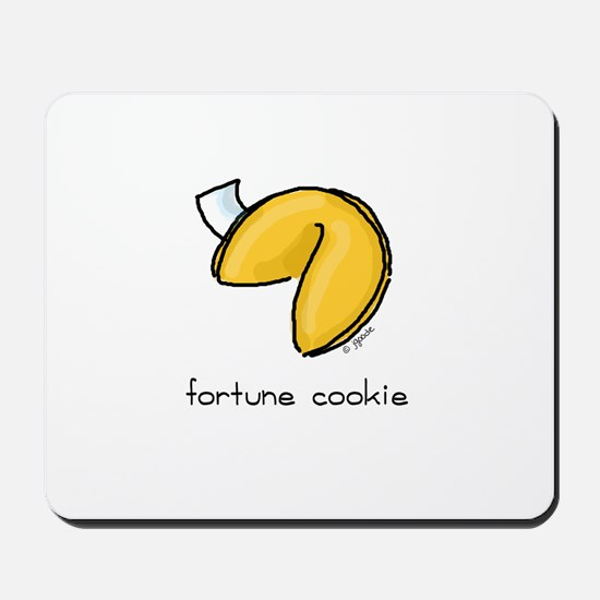 fortune cookie Mousepad
