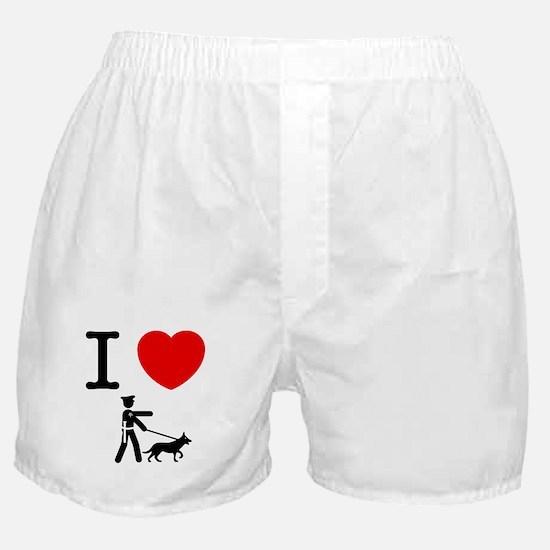 K9 Police Boxer Shorts