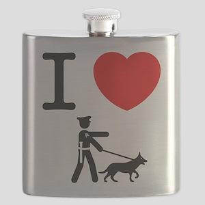 K9 Police Flask