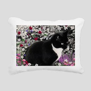 Freckles Tux Cat Rectangular Canvas Pillow