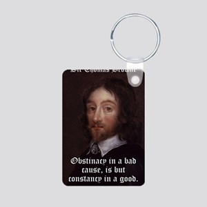 Obstinancy In A Bad Cause - Thomas Browne Aluminum