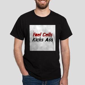 Fuel Cells Kicks Ass Black T-Shirt