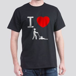 Lawn Mowing Dark T-Shirt