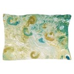 Sand and Surf Abstract Pillow Case
