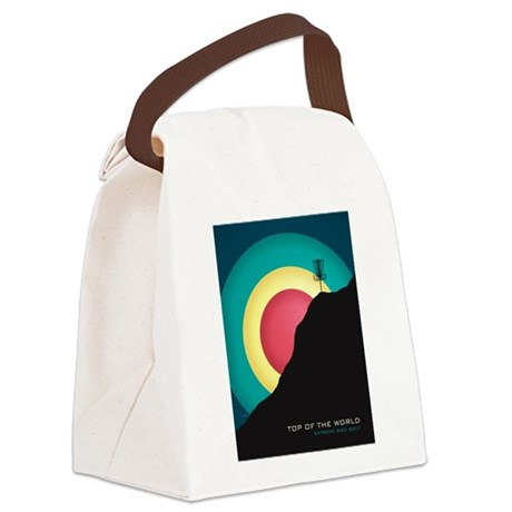 Extreme Disc Golf Canvas Lunch Bag