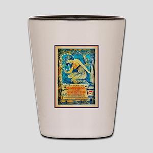 ART NOUVEAU Shot Glass