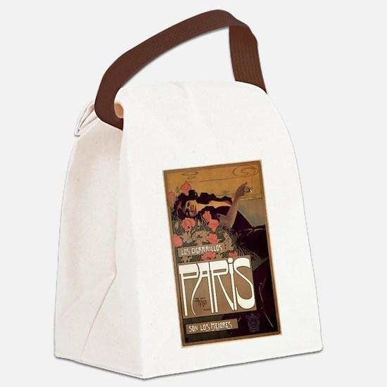 ART NOUVEAU Canvas Lunch Bag