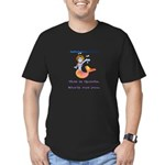 Goldie the mermaid. Shell cut you. Men's Fitted T-
