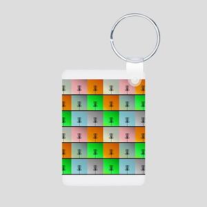 A Bunch of Baskets Aluminum Photo Keychain
