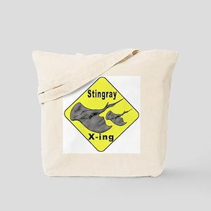 Singray Crossing Tote Bag