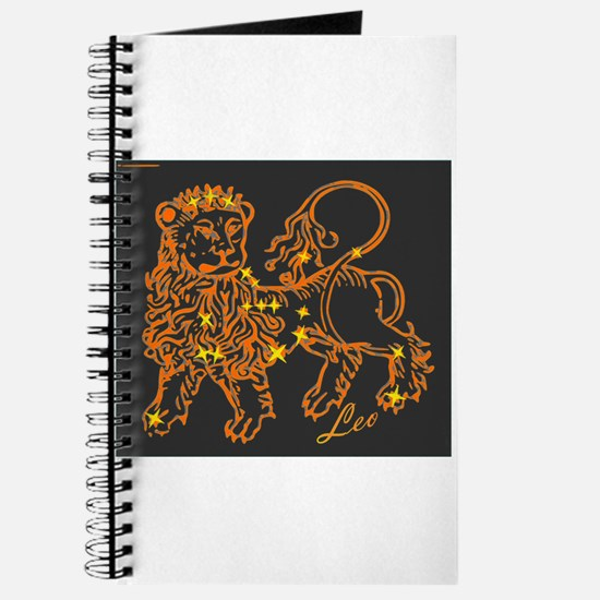 Leo Astrological Star Chart Journal