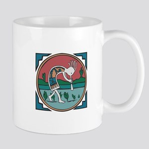 Colorful Kokopelli Mug
