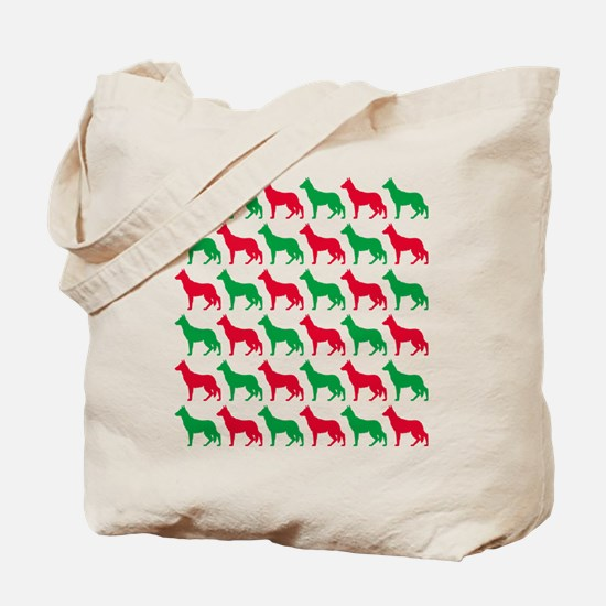 German Shepherd Christmas or Holiday Silhouettes T