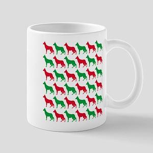 German Shepherd Christmas or Holiday Silhouettes M