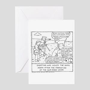 Gun Dog Revolt - Greeting Card