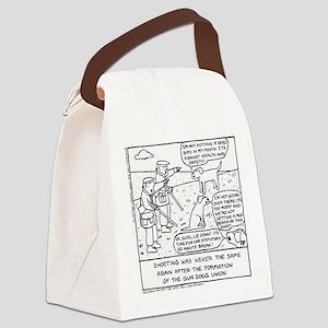 Gun Dog Revolt - Canvas Lunch Bag