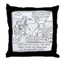 Gun Dog Revolt - Throw Pillow