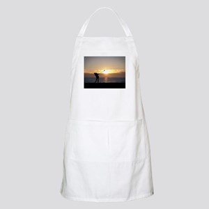 Playing Golf At Sunset Apron