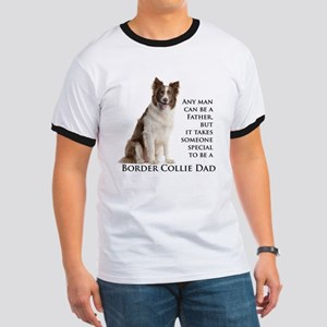 Border Collie Dad Ringer T