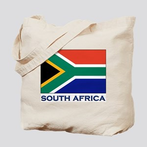 South Africa Flag Stuff Tote Bag