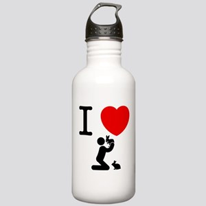 Rabbits Stainless Water Bottle 1.0L