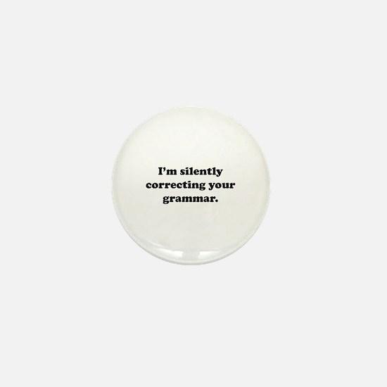 I'm Silently Correcting Your Grammar Mini Button