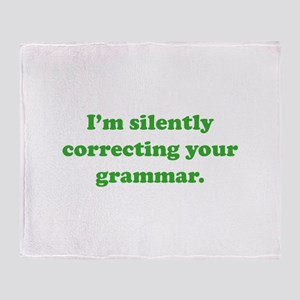 I'm Silently Correcting Your Grammar Stadium Blan