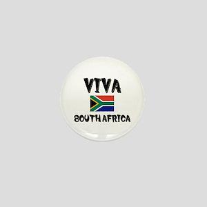 Viva South Africa Mini Button