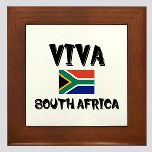 Viva South Africa Framed Tile
