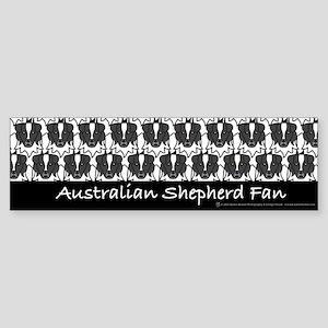 Australian Shepherd Fan Bumper Sticker