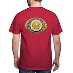 Buffalo gold oval 1 Dark T-Shirt
