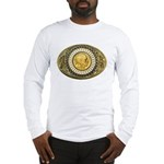 Buffalo gold oval 1 Long Sleeve T-Shirt