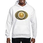 Buffalo gold oval 1 Hooded Sweatshirt
